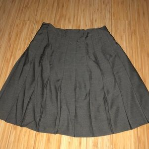 "Dresses & Skirts - Grey ""school girl"" pleated skirt"